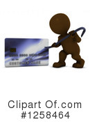 Royalty-Free (RF) 3d Brown Man Clipart Illustration #1258464