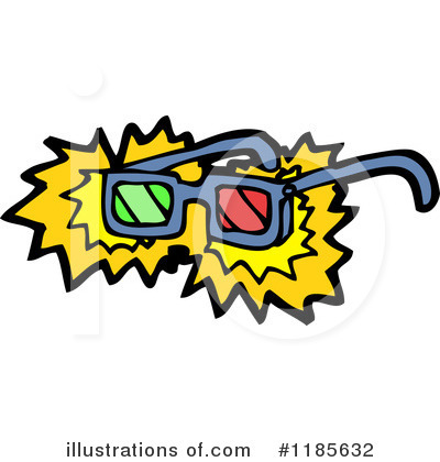 3d Glasses Clipart #1185632 by lineartestpilot