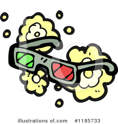 3d Glasses Clipart #1185733 by lineartestpilot