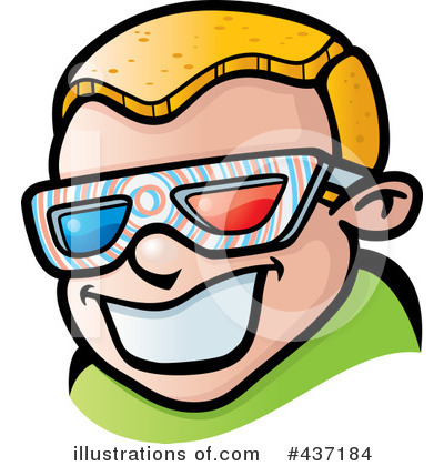 3d Glasses Clipart #437184 by Cory Thoman