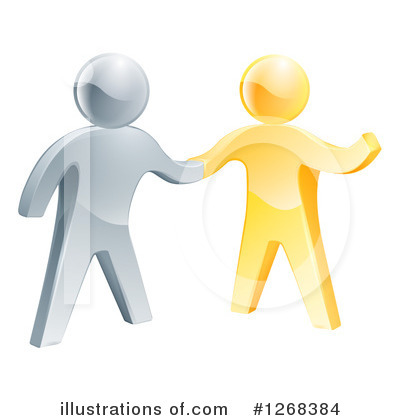 Handshake Clipart #1268384 by AtStockIllustration