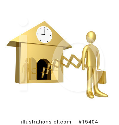 Clock Clipart #15404 by 3poD