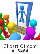 3d People Clipart #15464 by 3poD
