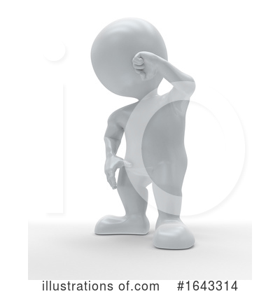 Royalty-Free (RF) 3d People Clipart Illustration by KJ Pargeter - Stock Sample #1643314