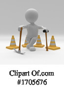 3d People Clipart #1705676 by KJ Pargeter