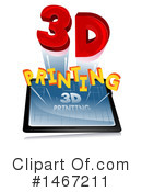 3d Printing Clipart #1467211 by BNP Design Studio