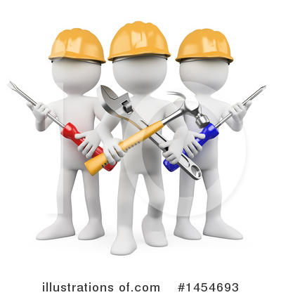 Carpenter Clipart #1454693 by Texelart