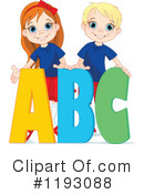 Royalty-Free (RF) Abc Clipart Illustration #1193088