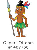 Aboriginal Clipart #1407766 by visekart