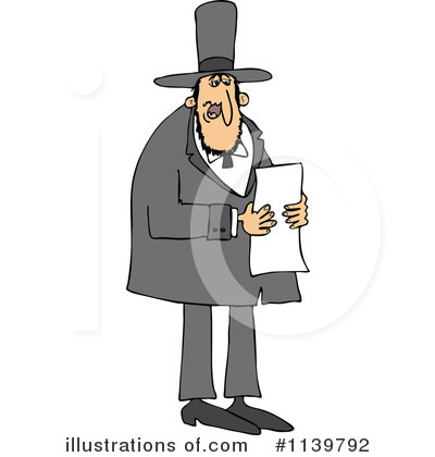 Abraham Lincoln Clipart #1139792 by djart