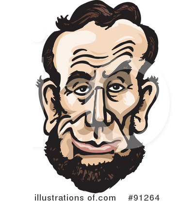 Abraham Lincoln Clipart #91264 by Dennis Holmes Designs