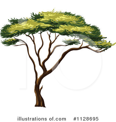 Tree Clipart #1128695 by Graphics RF