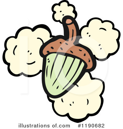 Acorn Clipart #1190682 by lineartestpilot