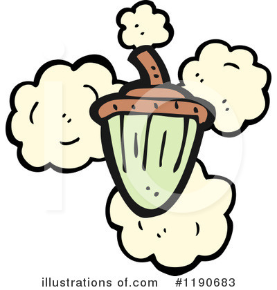 Acorn Clipart #1190683 by lineartestpilot