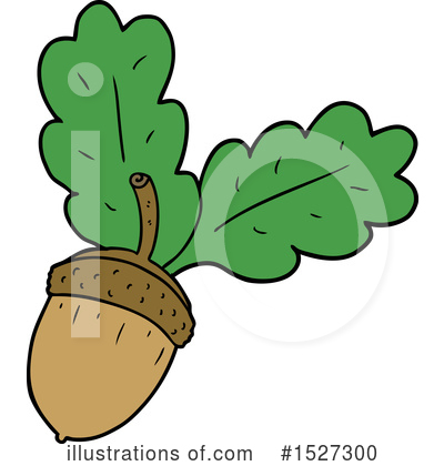 Acorn Clipart #1527300 by lineartestpilot