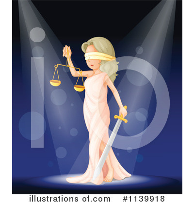 Lady Justice Clipart #1139918 by Graphics RF