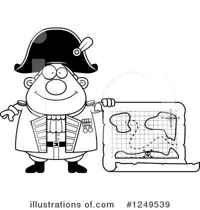 Admiral Clipart #1249539 by Cory Thoman
