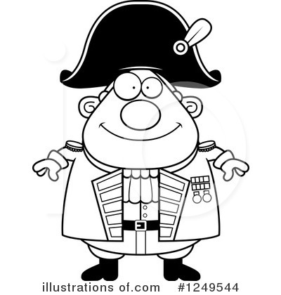 Admiral Clipart #1249544 by Cory Thoman