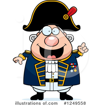 Royalty-Free (RF) Admiral Clipart Illustration by Cory Thoman - Stock Sample #1249558