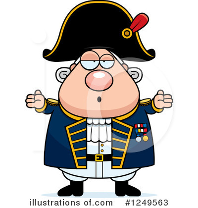 Admiral Clipart #1249563 by Cory Thoman