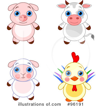 Pig Clipart #96191 by Pushkin