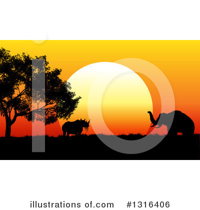 Safari Clipart #1316406 by KJ Pargeter