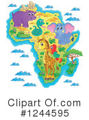African Animals Clipart #1244595 by visekart