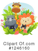 African Animals Clipart #1246160