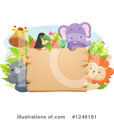 Lion Clipart #1246161 by BNP Design Studio