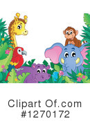 Royalty-Free (RF) African Animals Clipart Illustration #1270172