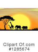 African Animals Clipart #1285674 by Graphics RF