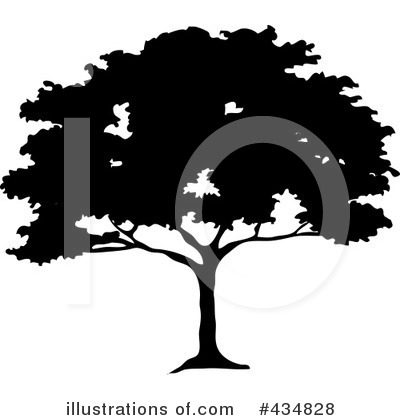 Tree Clipart #434828 by Pams Clipart