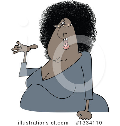 Afro Clipart #1334110 by djart