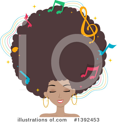 Hairstyle Clipart #1392453 by BNP Design Studio