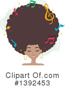Afro Clipart #1392453 by BNP Design Studio