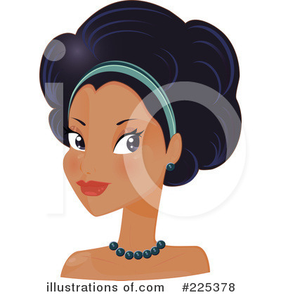 Afro Clipart #225378 by Melisende Vector