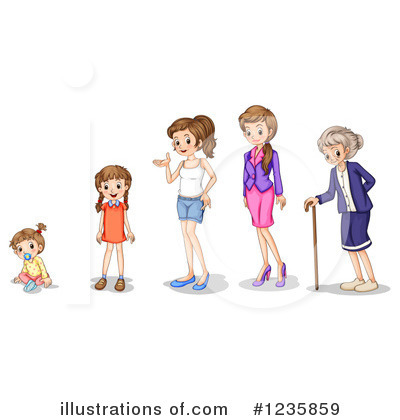 Senior Woman Clipart #1235859 by Graphics RF