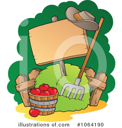 Produce Clipart #1064190 by visekart
