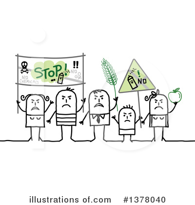 Protestor Clipart #1378040 by NL shop