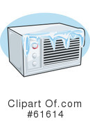 Royalty-Free (RF) Air Conditioning Clipart Illustration #61614