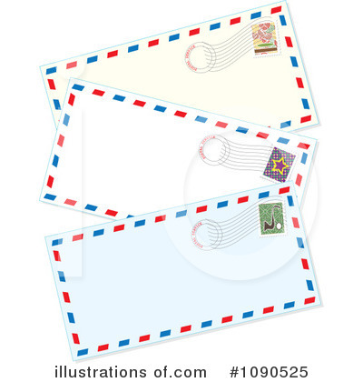 Stamps Clipart #1090525 by Maria Bell