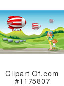 Air Ship Clipart #1175807 by Graphics RF