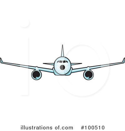 Airplane Clipart #100510 by Paulo Resende