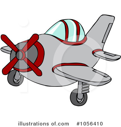 Airplane Clipart #1056410 by djart
