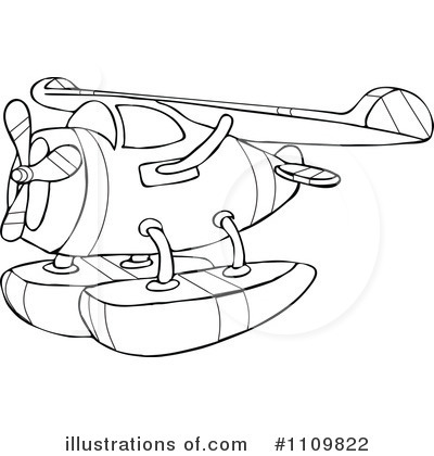 Airplane Clipart #1109822 by djart