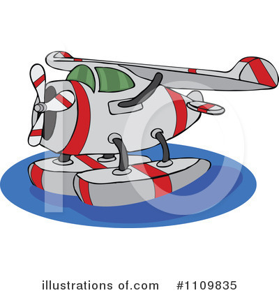 Airplane Clipart #1109835 by djart