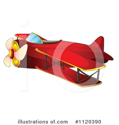 Plane Clipart #1120390 by Graphics RF
