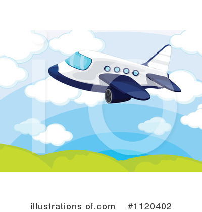 Plane Clipart #1120402 by Graphics RF