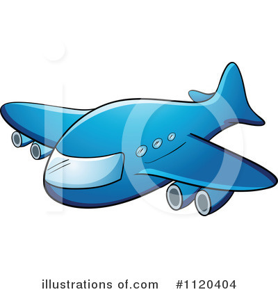 Plane Clipart #1120404 by Graphics RF