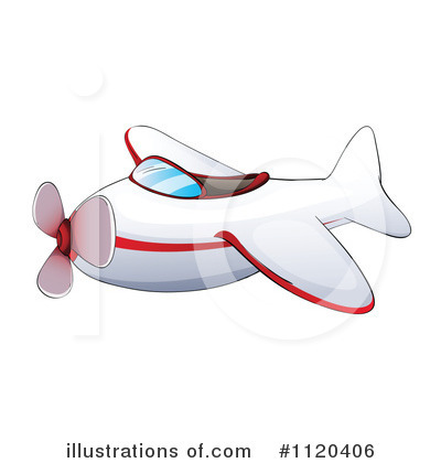 Plane Clipart #1120406 by Graphics RF